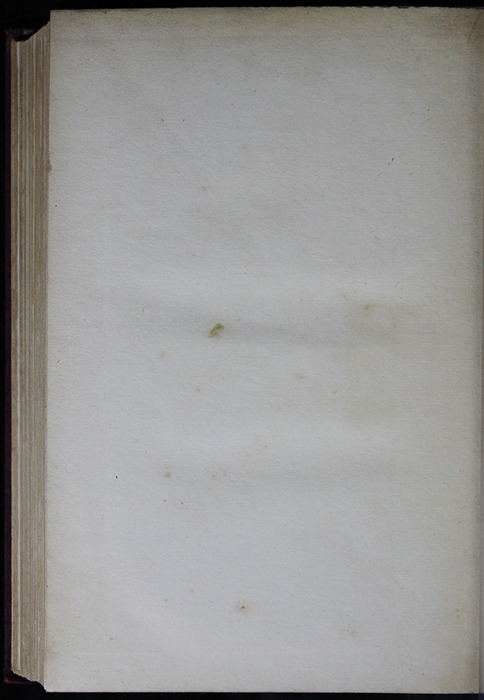 "Recto of Back Flyleaf in the [1909] Collins' Clear-Type Press ""The Imperial Series"" Reprint"