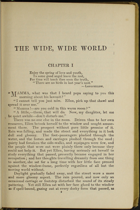 First Page of Text in the [1907] Grosset & Dunlap Reprint, Version 3