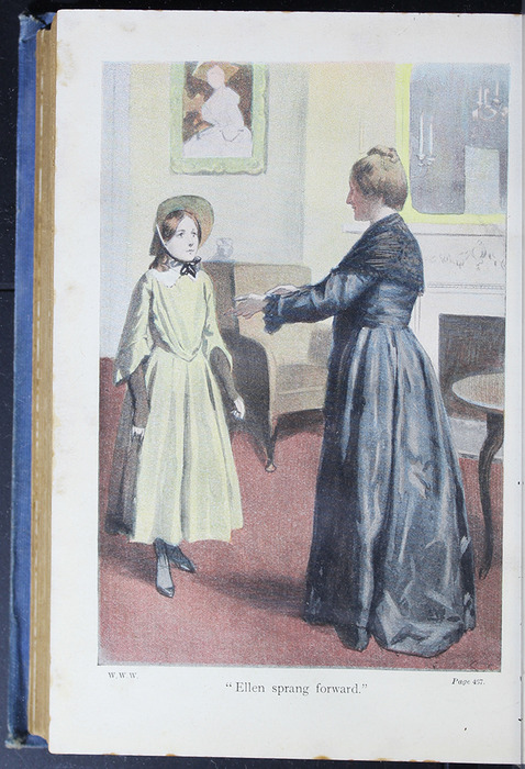 "Illustration on Page 466b of the [1910] Collins' Clear-Type Press ""The Challenge Series"" Reprint Depicting Ellen and Lady Keith"