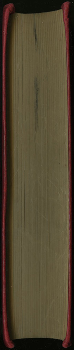 """Fore Edge of the [1902] Ward, Lock, & Co., Ltd. """"Complete Edition"""" Reprint"""