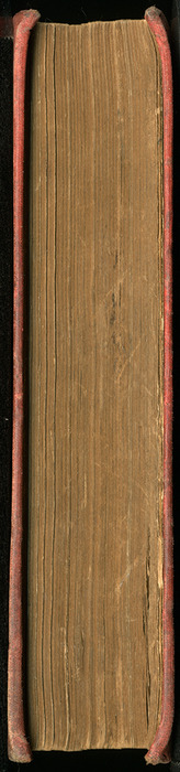 Fore Edge of the [1908] Seeley & Co. Ltd. Reprint