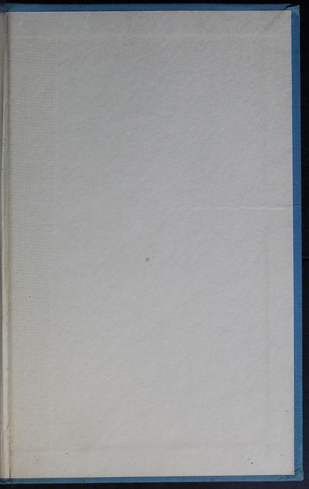 Back Pastedown of the 1955 WM. B. Eerdmans Publishing Co. Reprint