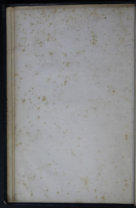 Verso of First Front Flyleaf of Volume 1 of the 1852 George P. Putnam 16th Edition, Version 2