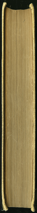 Fore-Edge of the 1892 J.B. Lippincott & Co. Edition