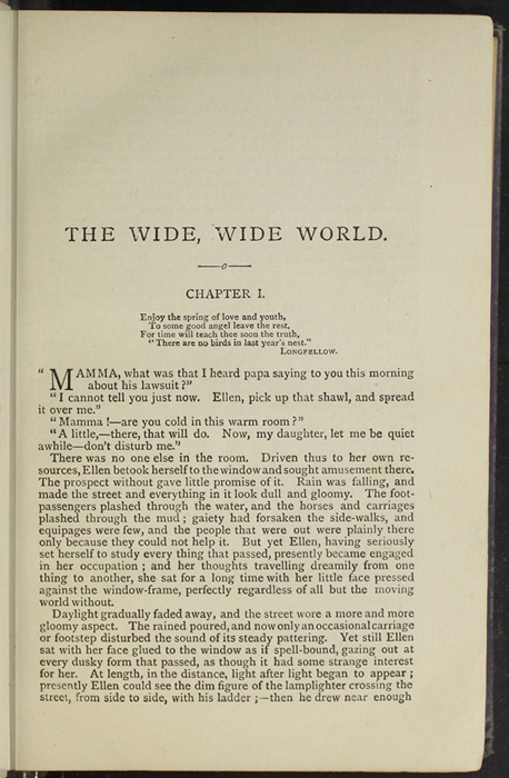 "First Page of Text in the  [1904] The Walter Scott Publishing Co. Ltd. ""Complete ed."" Reprint"