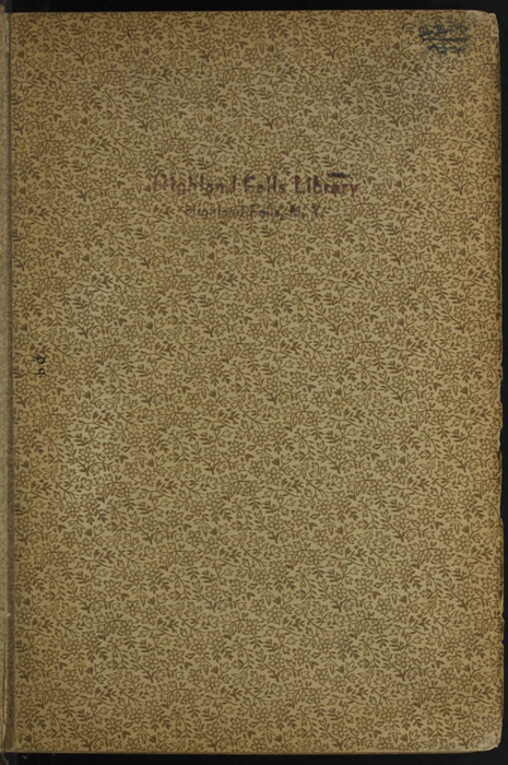 """Recto of Front Flyleaf with Library Mark of the [1895] William L. Allison Co. """"Allison's New Standard Library"""" Reprint"""