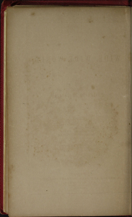 Verso of Title Page Vignette to the 1852 T. Nelson & Sons Reprint, Version 1