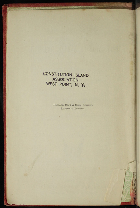 """Colophon of [1890] Frederick Warne & Co. """"Star Series"""" Reprint, Version 2"""