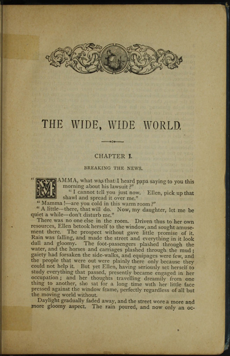 First Page of Text in the [1899] George Routledge & Sons, Ltd. Reprint, Version 1