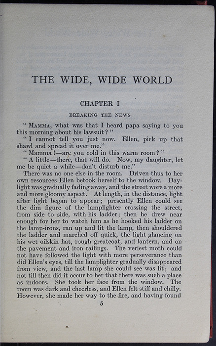 "First Page of Text in the [1918] Humphrey Milford/Oxford University Press ""Herbert Strang's Library"" Reprint"