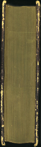 Fore-Edge of the 1853 George P. Putnam Illustrated Edition, Vol. 1, Issue 1