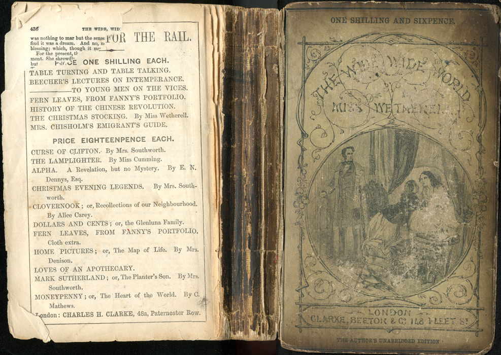 Full Cover of the [1853] Clarke, Beeton, & Co. Reprint, Version 1