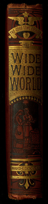 """Spine of the [1877] Ward, Lock & Co. """"Good Tone Library, Complete Edition"""" Reprint"""
