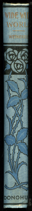 """Spine of the [1902] M. A. Donohue & Co. """"Snug Corner Series"""" Reprint"""