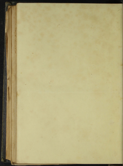 Verso of Second Back Flyleaf of Volume 1 of the 1851 George P. Putnam First Edition, Version 3
