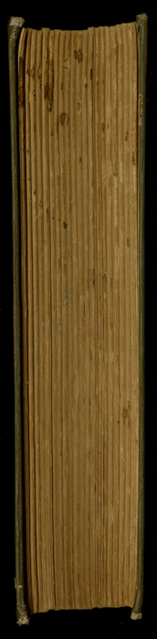 Fore-Edge of the [1933] Ward, Lock, & Co., Ltd., Reprint