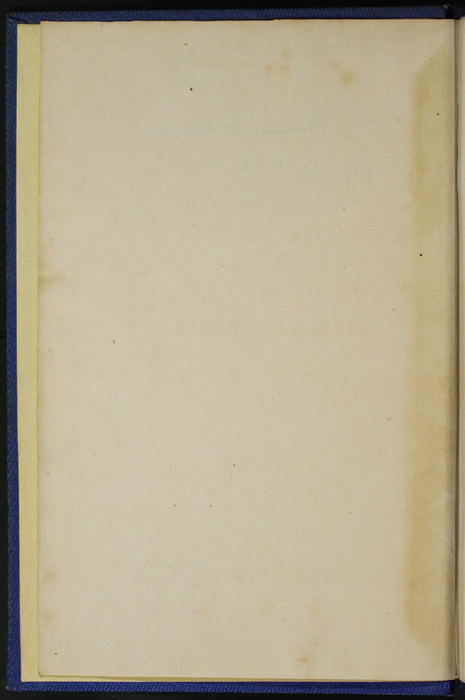 "Verso of Front Flyleaf of Volume 1 of the 1852 James Nisbet, Sampson Low, Hamilton, Adams & Co. ""Second Edition"" Reprint"