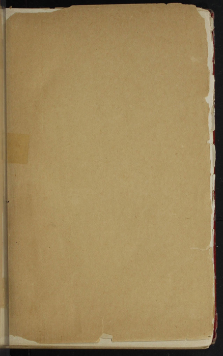 Recto of Front Flyleaf of Volume 1 of the [1902] Home Book Co. Reprint, Version 1