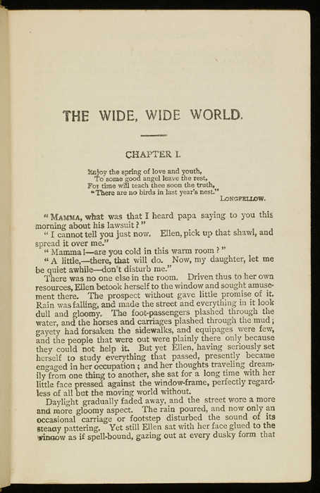 First Page of Text in the [1915] M. A. Donohue & Co. Reprint