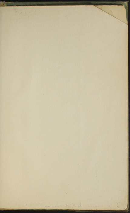 Recto of Second Back Flyleaf of the [1910] R. F. Fenno & Co. Reprint