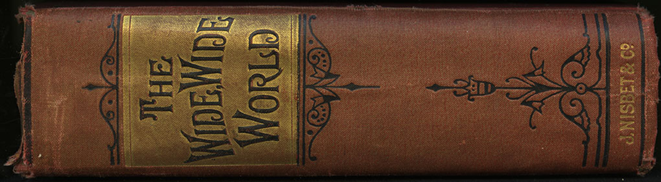 Spine of the [1896] James Nisbet and Co. Edition