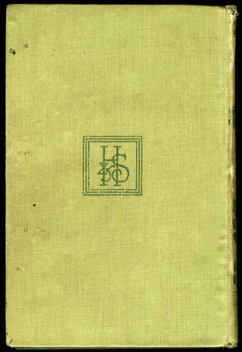 Back Cover of the 1896 Hodder and Stoughton Reprint