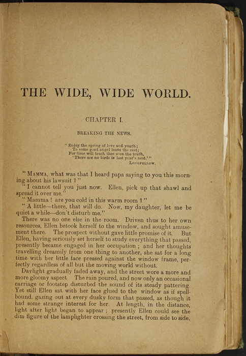 First Page of Text in the [1904] S. W. Partridge & Co. Reprint
