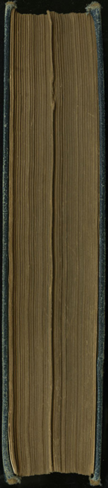 Fore Edge of [1893] James Nisbet & Co. Reprint, Version 1