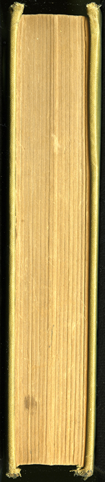 Fore Edge of the [1907] Grosset & Dunlap Reprint, Version 3