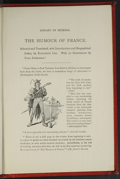 Third Page of Back Advertisements in the [1896] Walter Scott, Ltd. Reprint