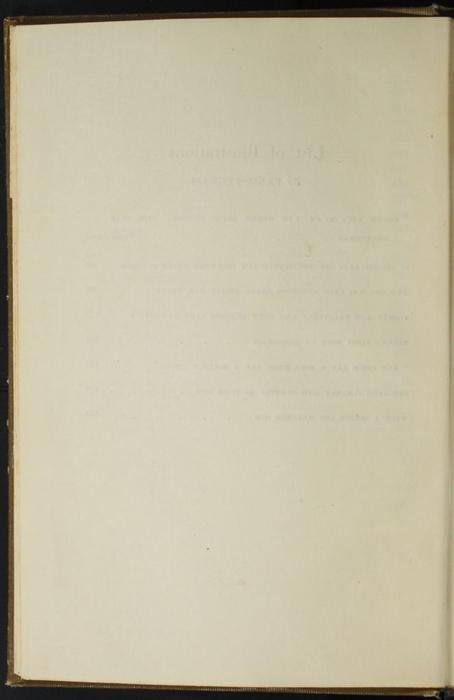 Verso of List of Illustrations for the [1907] Grosset & Dunlap Reprint, Version 1