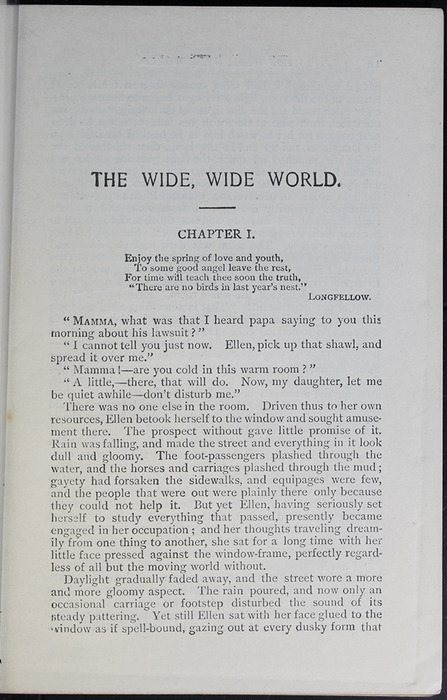 First Page of Text in the [1899] Geo. M. Hill Co. Reprint