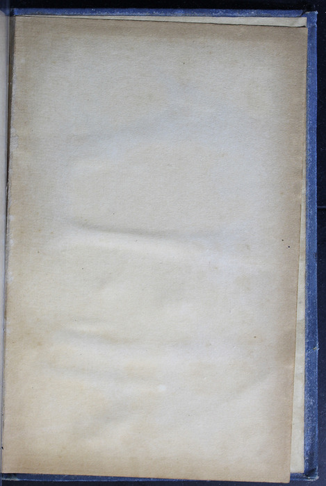 "Recto of Second Back Flyleaf of the [1910] Collins' Clear-Type Press ""The Challenge Series"" Reprint"