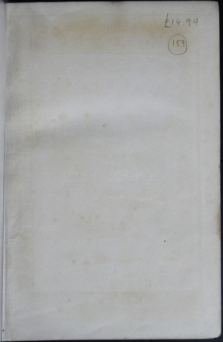 "Recto of Front Flyleaf of the [1903] W.P. Nimmo, Hay & Mitchell ""Complete Edition"" Reprint"