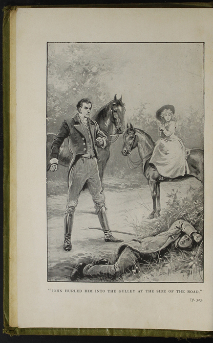 Frontispiece to the [1910] S.W. Partridge & Co., Ltd. Edition Depicting the Horse Whipping Scene