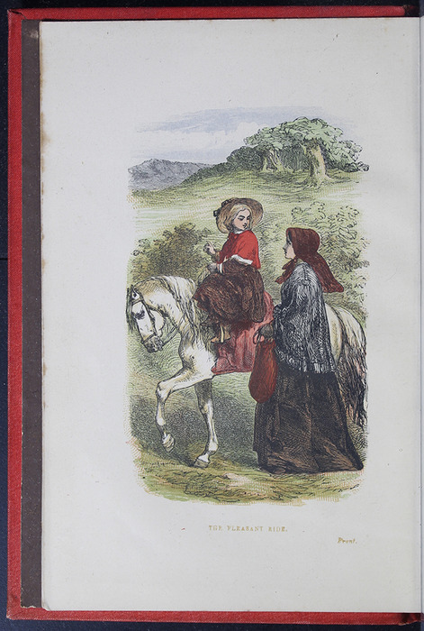 """Frontispiece of the 1879 James Nisbet & Co. """"Golden Ladder Series"""" Reprint Depicting the Pleasant Ride"""