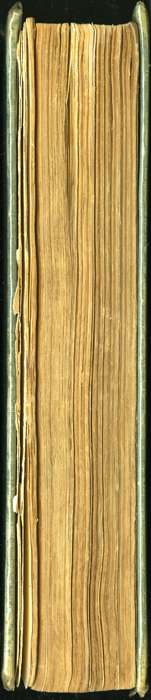 Fore Edge of the [1910] R. F. Fenno & Co. Reprint