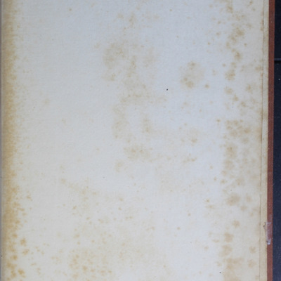 """Recto of Back Flyleaf of the [1899] George Routledge & Sons Ltd. """"Ruby Series"""" Reprint, Version 2"""
