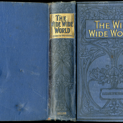 """Full Cover of the [1910] Collins' Clear-Type Press """"The Challenge Series"""" Reprint"""