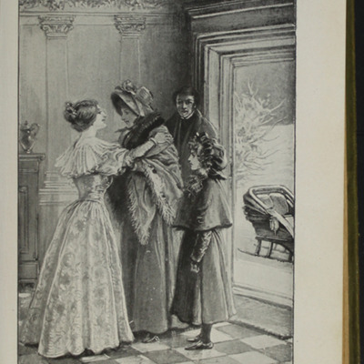 Illustration on Page 222a of the [1910] S.W. Partridge & Co, Ltd. Reprint, Depicting Ellen Arriving at the Marshman's