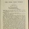 """First Page of Text in the [1902] Ward, Lock, & Co., Ltd. """"Complete Edition"""" Reprint"""