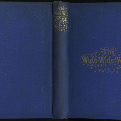 "Full Cover of Volume One of the 1852 James Nisbet, Sampson Low, Hamilton, Adams & Co. ""Second Edition"" Reprint"