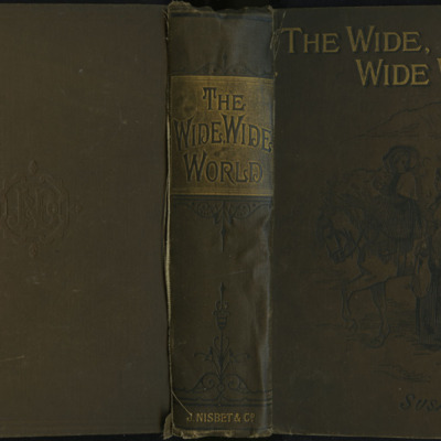 "Full Cover of the [1891] James Nisbet & Co. ""New Edition"" Reprint, Depicting Ellen Riding Sharp"