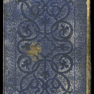 Back Cover of the 1853 H.G. Bohn Reprint, Version 2