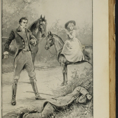 Illustration on Page 322a of the [1896] S.W. Partridge & Co. Reprint, Depicting the Horse Whipping Scene