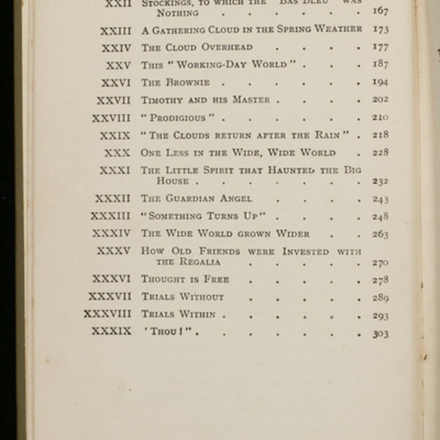 Page 2 of Table of Contents for the [1933] Ward, Lock, & Co., Ltd., Reprint
