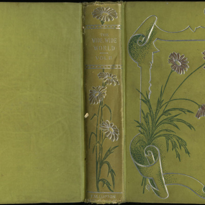 Full Cover of Volume One of the [1898] F.M. Lupton Publishing Co. Reprint