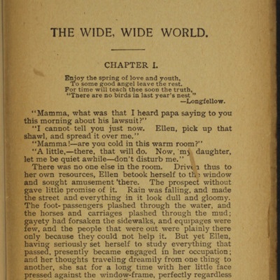 First Page of Text in the [1900] W.B. Conkey Reprint
