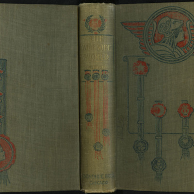 "Full Cover of the [1900] Donohue Brothers ""Completed and Unabridged Ed."" Reprint"