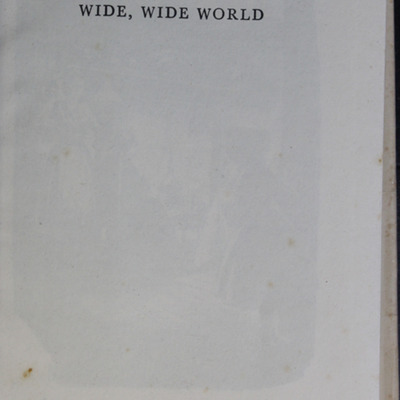 Half Title Page to the [1950] University of London Press, Ltd. Abridged Reprint
